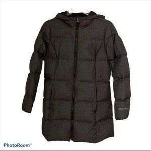 Eddie Bauer Charcoal Gray Womens Coat Like New PS